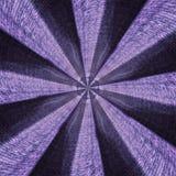 Radiell textilabstrakt begreppmodell Royaltyfri Fotografi