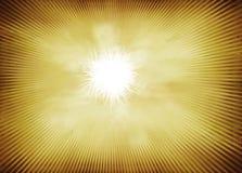 Radiell vågapelsinbakgrund Royaltyfri Fotografi