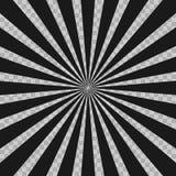 Radiella linjer bakgrund för abstrakt humorbokexponeringsexplosion Illusionstrålar Retro beståndsdel för sunburstGrungedesign God Fotografering för Bildbyråer