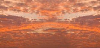 radient złota chmura Fotografia Royalty Free