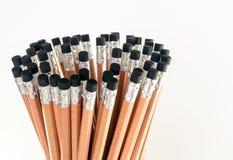 Radiergummi am Ende des Bleistifts Lizenzfreie Stockfotos