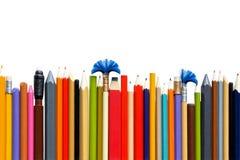 Radiergummi und Bleistifte Stockbilder