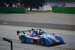 Radikal SR3 på Monza Royaltyfri Foto