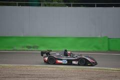 Radikalt springa för bil SR8 på Monza Arkivbilder