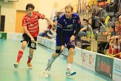 Radim Polasek in floorball Stock Photo