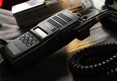 Radio. Fire department scanner / radio receiver Stock Images