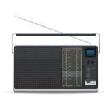 Radio. On a white background Stock Photos