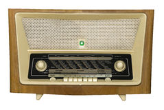Radio. An retro radio with a magic eye Royalty Free Stock Photography