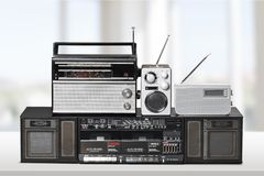 radio Royaltyfri Bild