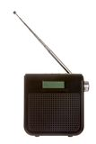 Radio. Isolated on a white background Stock Photography