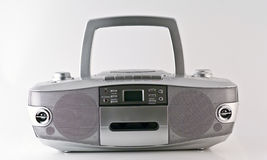 Radio. A casette radio and cd player stock photos