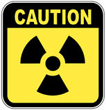Radio active caution sign