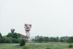 Radio aerial. Air Traffic Control (ATC) Royalty Free Stock Photography