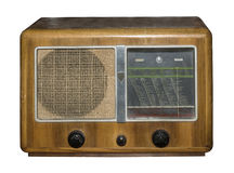 Radio allemande 1939 de tube Images stock