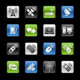 Radio & de Communicatie Reeks van // GelBox vector illustratie