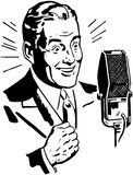 Radio Announcer 2 Royalty Free Stock Image