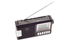 Radio with antenna Royalty Free Stock Photography