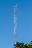 Radio antenna for broadcasting Royalty Free Stock Image