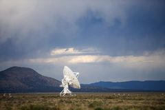 Radio Antenna Dish Stock Photos