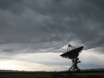 Radio antenna dish Royalty Free Stock Image