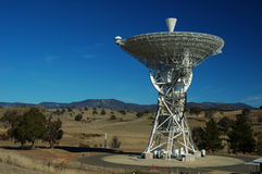Radio Antenna Dish. Canberra Deep Space Communication Complex, ACT, Australia stock photography