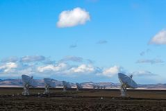 Radio Antenna Dishes Stock Photography
