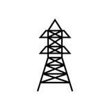 Radio antenna isolated Royalty Free Stock Photography