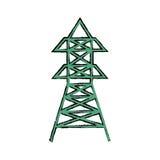 Radio antenna isolated Stock Photos