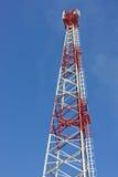 Radio antenna. Phones. Stock Images