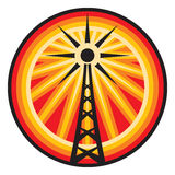 Radio antenna symbol Stock Photos