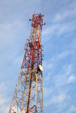 Radio antenna Tower Stock Images
