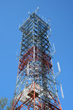 Radio antenna tower Royalty Free Stock Photography