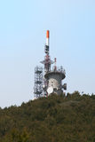 Radio antennas Stock Image