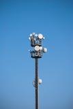 Radio antennas Royalty Free Stock Image