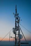 Radio antennas Royalty Free Stock Photos