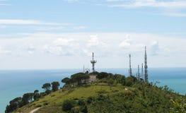 Radio antennas Stock Photos