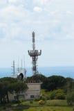 Radio antennas Royalty Free Stock Photography