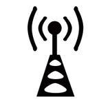 Radio antenne royalty-vrije illustratie