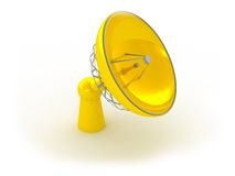 Radio-antenne vector illustratie