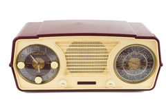 Radio antica Fotografia Stock