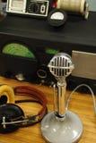 Radio antica Immagini Stock