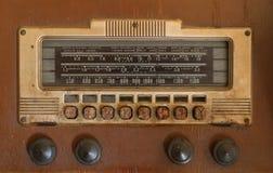 Radio antigua Fotos de archivo libres de regalías
