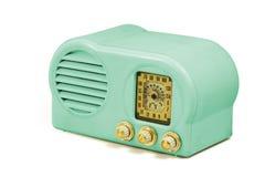 Radio antigua de la baquelita Imágenes de archivo libres de regalías