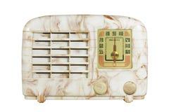 Radio antigua 06 de la baquelita imagen de archivo