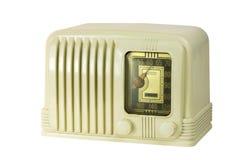 Radio antigua 05 del tubo de la baquelita imagen de archivo libre de regalías