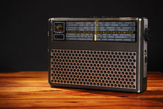 Radio antiquata Fotografie Stock Libere da Diritti