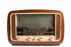 Radio antique Photographie stock