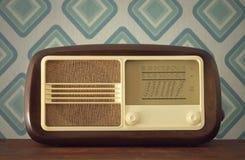 Radio antique Photographie stock