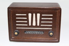 Radio antique Photos libres de droits
