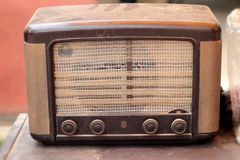 Radio antique vintage of beauty Royalty Free Stock Photos